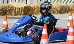 demi tour en karting