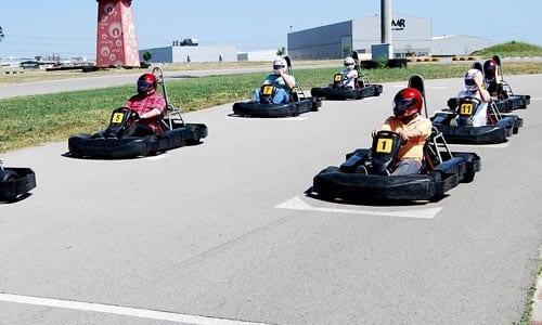 Comment prendre un virage parfait en karting ?